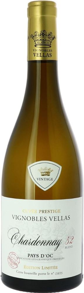 Vignobles Vellas Chardonnay 52 Blend